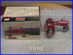 Ertl 1/16 International Harvester Ih Farmall B Tractor Se Firestone