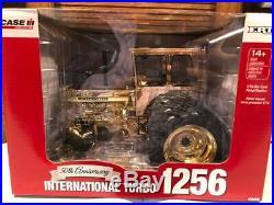 Ertl 50th Anniversary International 1256 Turbo 1/16 Duals Gold Chrome Edition