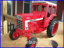 Ertl Custom International Pay Hauler Equipment Flatbed IH 1466 Turbo Tractor