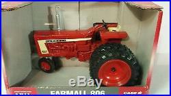 Ertl Farmall 806 Diesel NF withdauls 1/16 diecast farm tractor replica collectible