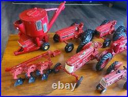 Ertl Farmall + International Harvester Die-Cast Tractors Mostly 1/16 11 Pcs