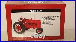 Ertl Farmall M 1/16 diecast metal farm tractor replica collectible