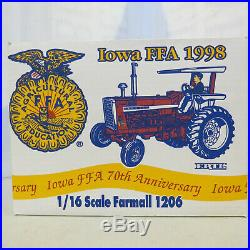 Ertl International Harvester 1206 70th Anniversary 1998 Iowa FFA IH513