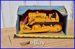 Ertl International Harvester Ih Td 25 Crawler With Blade Blue Print Replica Box