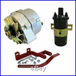 Farmall 12V Alternator Conversion Kit A, C, Super A, Super C, 100, 130, 200