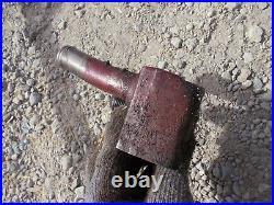 Farmall 300 350 Rowcrop tractor IH hydraulic pump line hose port block bracket