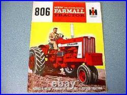 Farmall 806 Tractor Brochure lw