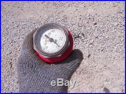 Farmall H SH 300 350 400 Tractor Original IH short gas gauge in cap HARD TO FIND