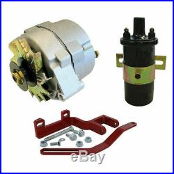 Farmall IH 12 Volt Alternator Conversion Kit A, AV, B, BN, C, Super A, Super C
