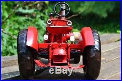 Farmall MD Tin Metal Tractor Model Tinplate International Harvester M IH