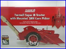 Farmall Super M TRACTOR WITH MOUNTED 2MH CORN PICKER NEVER OPENED