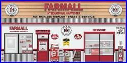 Farmall Tractors Ih Dealer Repair Huge Wall Mural Sign Banner Garage Art 8'x16