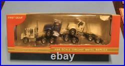 First Gear 1/64 International 8600 Tractor 3 Piece Set #60-0020 New