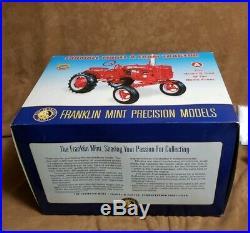Frankin Mint IH Farmall A Tractor 1/12 Scale IH367