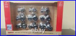 IH 1/64 9 Piece Tractor Silver Chase unit set ZFN44226