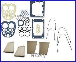 IH Farmall 100, 130, 140, 200 Hydraulic Touch Control Block Repair kit & boots