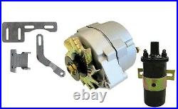 IH Farmall H Super H Alternator Conversion Kit 12 Volt with Brackets