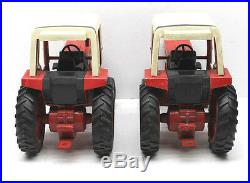 IH International 1586 Tractor & Cab+IH HarvesterFront End Loader ERTL 1/16 Scale