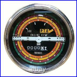 IH International 424 444 2424 2444 Gas Tractor Tachometer Tractormeter RPM Gauge