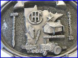 IH International 806 Tractor Minnesota Red Power Roundup Belt Buckle 1999 CH 15