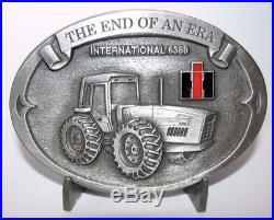 IH International Harvester 6388 Anteater Tractor Belt Buckle 1993 Farmall Last