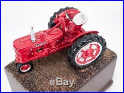 IH International Harvester Farmall Tractor 3 Pc Bronze Bookend Set Super M C H