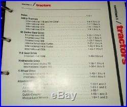 IH International Tractor & Farm Equipment Sales Manual 140 thru 1568 3788 1466 &