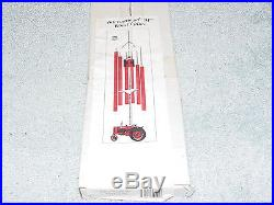 Ih International Harvester Farmall M Tractor Wind Chime Nib