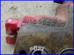 International 1066 tractor IH hydraulic control valve assembly under seat KK