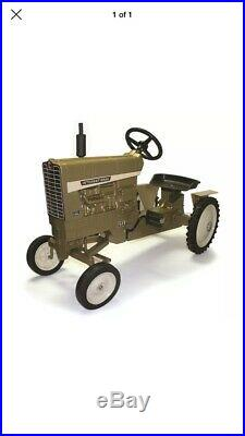 International 1456 50th Anniversary GOLD Pedal Tractor by Scale Models NIB