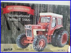 International 1466 MFWD 40th Anniversary 1/16 Ertl Tractor