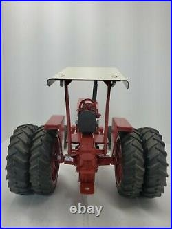 International 1566 1/16 Tractor Duals, Rops, Custom ERTL