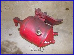 International 504 diesel Utility Tractor engine motor fuel filter cannister