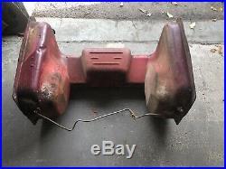 International 574 674 series tractor rear saddle diesel fuel tank