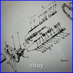 International B275 B414 276 434 Tractor Hydraulic Spool & Sleeve Vari-touch Hyd
