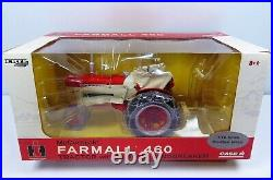 International Farmall 460 Tractor With Blade And Windbreaker By Ertl Nib