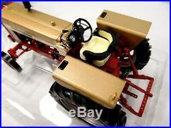 International Farmall 544 Hydro Gold Demonstrator Tractor 1/16 Nib