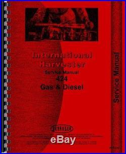 International Harvester 424 Tractor Service Manual