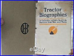 International Harvester Bulletins Full Binder TITAN Tractor Biographies LOT Book