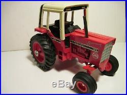 International Harvester Farm Toy Tractor 1086 Red Power Custom 1/16