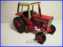 International Harvester Farm Toy Tractor 786 Red Power Custom 1/16