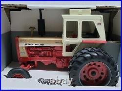 International Harvester Farmall 1456 Golden Demonstrator 1/16 Scale By Ertl