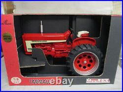 International Harvester Farmall 806 1997 Sp Edition Toy Tractor, 1/8 Scale NIB