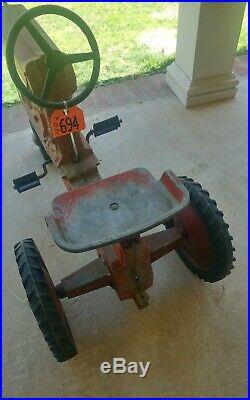 International Harvester Farmall Model 1026 Toy Pedal Tractor