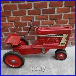 International Harvester Farmall Model 806 Pedal Tractor Ertl original
