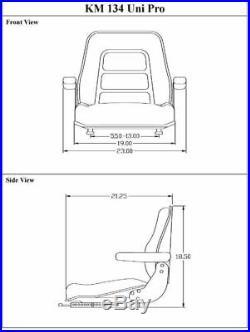 International Harvester IH 3444 Seat Assembly Seat