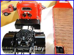 International Harvester Kb Tractor With Lowboy Trailer First Gear #103488 New