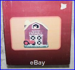 International Harvester McCormick Farmall Barn with Tractor Cookie Jar FJ25