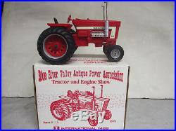 International Harvester Model 1468 V-8 Toy Tractor 95 BRVAPA 1/16 Scale, NIB