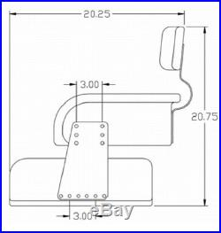 International Harvester Tractor 806, 1066, 1256, 1456, Seat Assembly Original